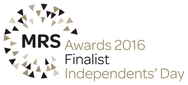 MRS Awards 2016 Finalist Independents' Day